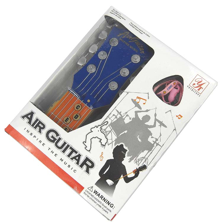 Brand New Infrared RHYTHM Inspire Music Air Guitar Blue- image 4