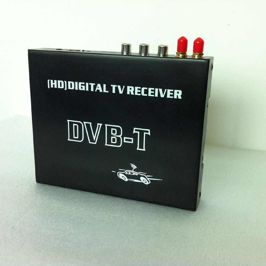 Car High-speed Mobility HD DVB-T Receiver + Video Audio Decoder- image 2