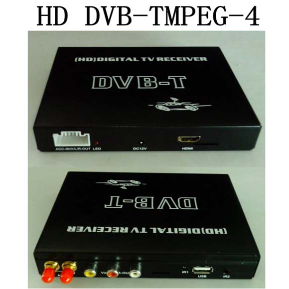 Car High-speed Mobility HD DVB-T Receiver + Video Audio Decoder- image 4