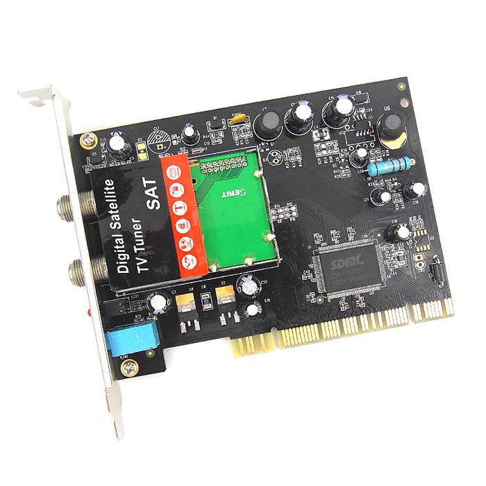 image digital satellite tv tuner sat lnb and switch control pci card used on pc from china. Black Bedroom Furniture Sets. Home Design Ideas