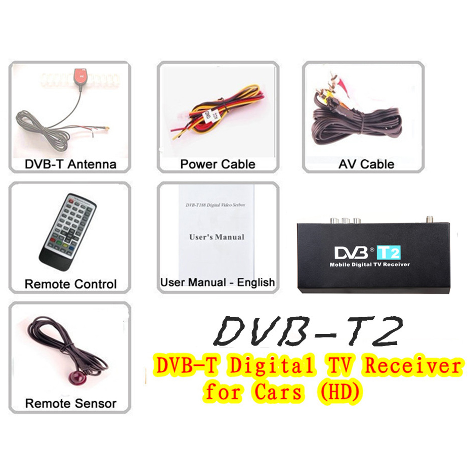 HD/SD DVB-T2 Digital TV Receiver- image 3