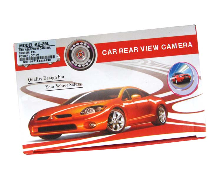 Micro waterproof car rear view camera (PAL/NTSC, night vision, RCA connector)- image 4