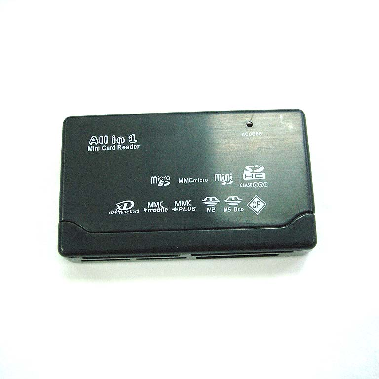 Multifunctional Mini USB Card Reader for Samsung Galaxy Tab 10.1 P7500/P7510 - Black- image 1