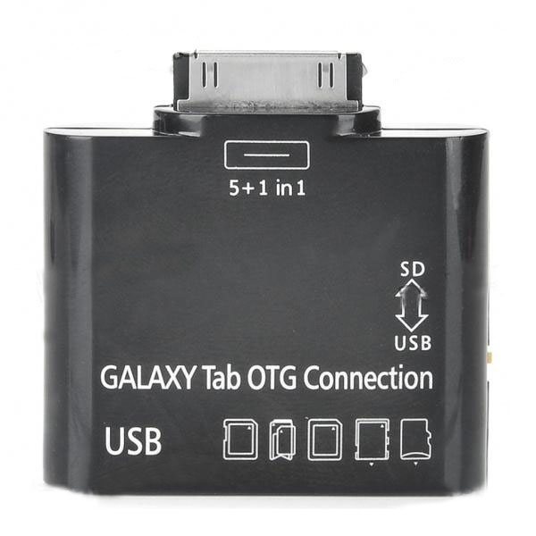 OTG Connection Kit + Card Reader for Samsung Galaxy Tab 10.1 P7510/P7500/P7300/P7310
