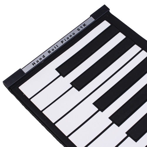 Soft Keyboard Piano with MIDI (61 Key, Digital Roll-up)- image 2