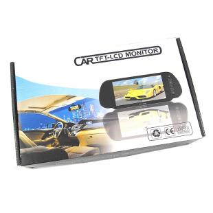 Buy 7' TFT LCD Touch Screen Monitor for Vehicles Reverse Camera with Bluetooth Handsfree 4
