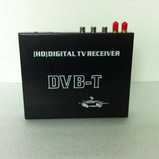 Car High-speed Mobility HD DVB-T Receiver + Video Audio Decoder
