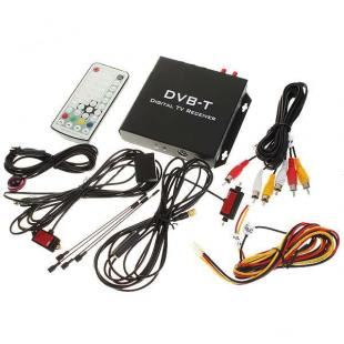 Buy Car Mobile DVB-T Digital Television TV Receiver Box 3