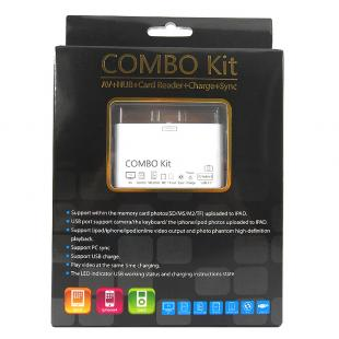 Buy Combo Connection Kit for Apple iPad / iPhone 4 / iPod - White 1