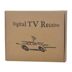 Buy DVB-T Digital Car TV Receiver Box w/ Antenna - 12V - Single Tuner 3