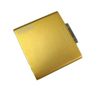 Dock to HDMI adapter for ipad 1 ipad 2 iphone ipod touch 4 - Gold