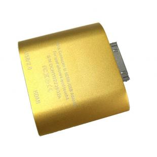 Buy Dock to HDMI adapter for ipad 1 ipad 2 iphone ipod touch 4 - Gold 3