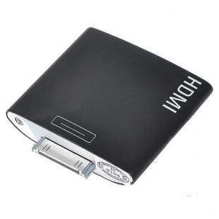 Dock to HDMI adapter for ipad 1 ipad2 iphone ipod touch 4 - Black
