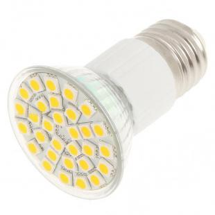 E27 5.5W 360-Lumen 3500K 30x5050 SMD LED Warm White Light Lamp Bulb