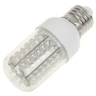 E27 5W 6500K 460-Lumen 78-LED White Light Bulb