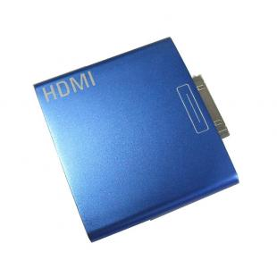 HDMI Adapter for iPad iPhone 4 - Blue