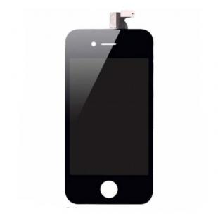 High Quality LCD Screen Digitizer Assembly W/ Frame-Black For iPhone 4 Verizon