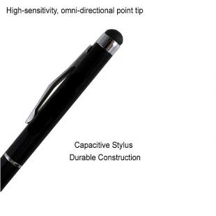 Buy Luxurious Capacitive Stylus Pen with Ballpoint Pen - Black 1