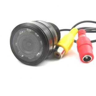 Micro waterproof car rear view camera (PAL/NTSC, night vision, RCA connector)