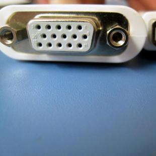 Buy Mini DVI to VGA Video Adapter Cable for Macbook iMac 1