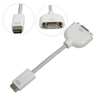 Mini DVI to VGA Video Adapter Cable for Macbook iMac