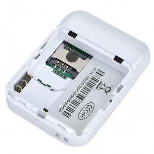 Buy Mini GSM/GPRS/GPS Personal Position Tracker for Car/Child/Elder/Pet - White 2