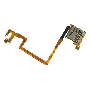 Original New SD Card Socket with Connect Cable Replacement for DSi
