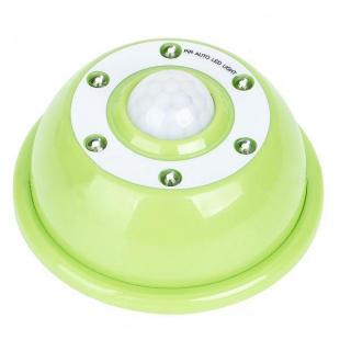 Buy PIR Motion Activated 6-LED White Light- Green + White 1