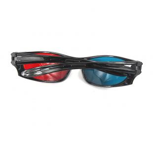 Buy Plastic Anaglyph 3D Glasses, Plastic Cyan Red 3D Glasses 1