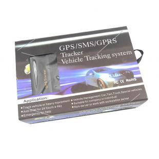 Buy Portable Multi-Function SMS/GPRS/GPS Vehicle Tracker - Black 5