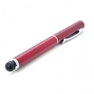 Buy Professor Capacitive Stylus Pen with Laser Pointer and LED Light - Red 1
