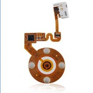 Replacement Click Wheel Ribbon Flex Cable for iPod Nano 2nd Gen - White