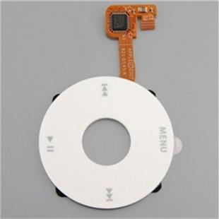 Replacement White Click Wheel Flex Cable for iPod Classic