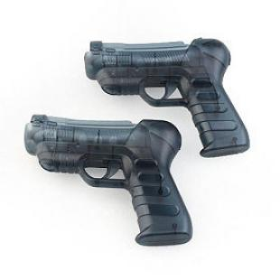 Shooting Equipment Gun Pistol Adapter for Motion Controller PS3 Move (Pair)