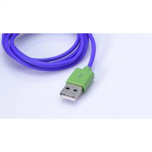 Buy USB Data Sync Charger Cable Cord Purple for iPhone (1 m) 2