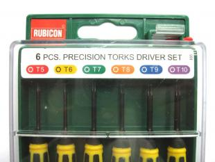 Buy XBOX360 6PCS precision specific torks driver set tools T5/T6/T7/T8/T9/T10 RES-103 2