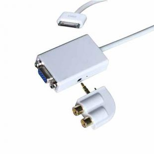 Buy iPad Dock Connector to VGA + Audio Output Adapter 1