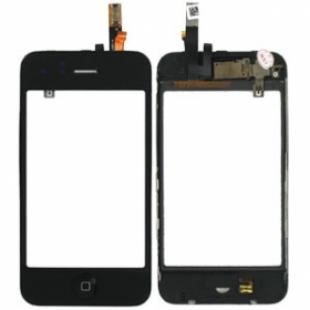 iPhone 3G Digitizer Assembly, Front Glass, Home Button & Frame