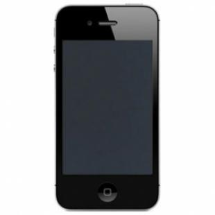 iPhone 4 Screen Repair Kit Black, LCD, Touch Panel, Home Button, Frame