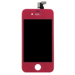 iPhone 4S Magenta Complete Front Screen Assembly