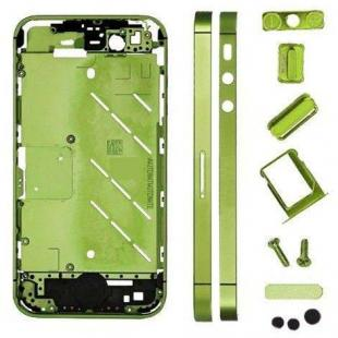 iPhone 4S Metal Midframe Middle Frame plate- Green