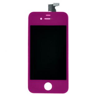 iPhone 4S Purple Complete Front Screen Assembly