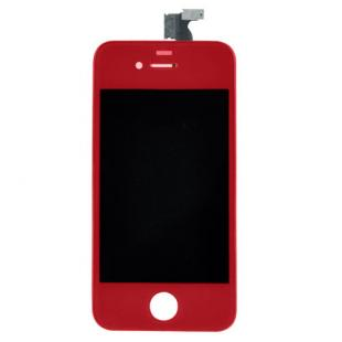 iPhone 4S Red Complete Front Screen Assembly