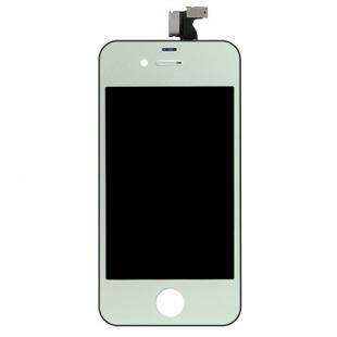 iPhone 4S Silver Complete Front Screen Assembly