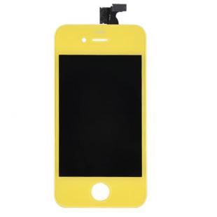 iPhone 4S Yellow Complete Front Screen Assembly