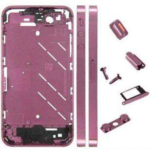 iPhone 4s Metal Midframe Middle Frame Board -Plated Purple