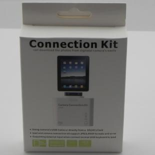 2-in-1 connection kit for iPad (support keyboard, SD(HC) card, digital camera)