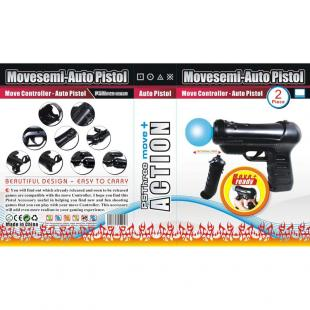 Buy 10x Move Controller - Auto Pistol for PS3 1
