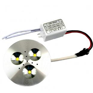 3x1W LED Light