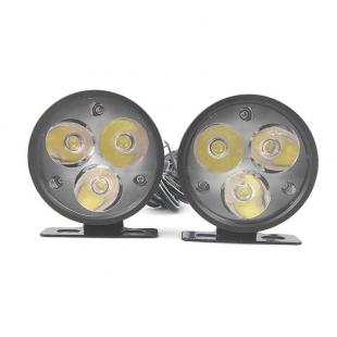 3x1W Waterproof 90LM Universal Design Super Powerful Auxiliary Bright LED Light